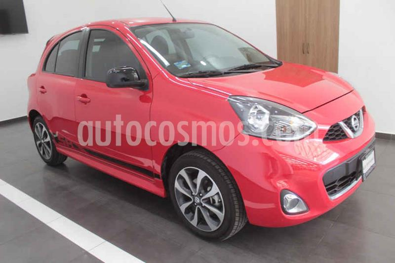 Nissan March SR usado (2018) color Rojo precio $189,000