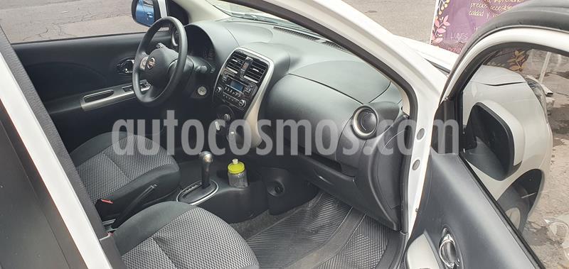 Nissan March Advance Aut usado (2018) color Blanco precio $128,500