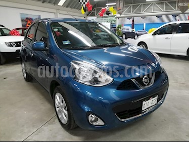 Nissan March Advance usado (2018) color Turquesa precio $175,000
