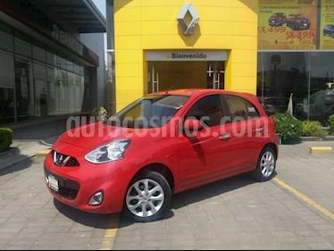 Nissan March Advance usado (2016) color Rojo precio $150,000