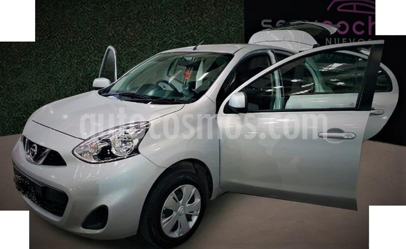 Nissan March Sense usado (2018) color Plata precio $154,999