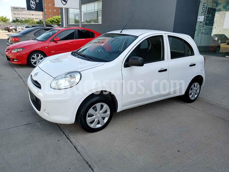 Nissan March Active Aire Ac usado (2019) color Blanco precio $150,000