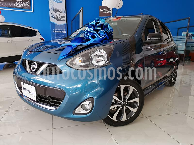 Nissan March SR usado (2018) color Turquesa precio $195,000