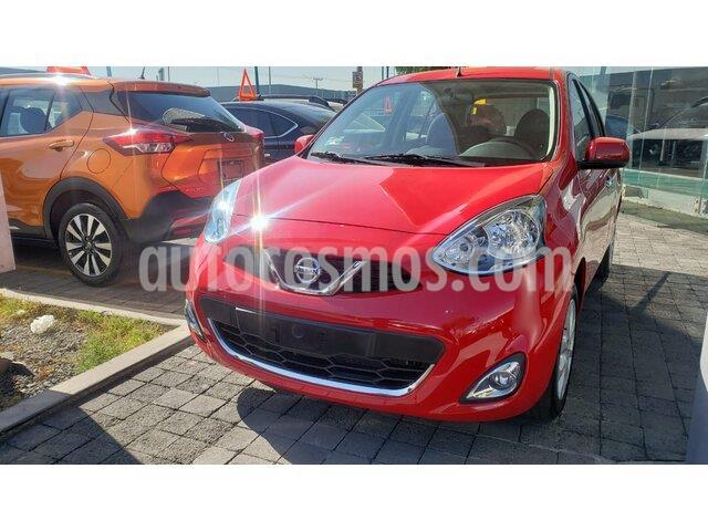 Nissan March Advance usado (2020) color Rojo precio $205,000