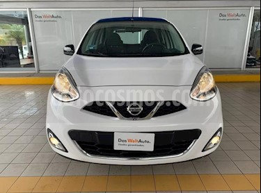Nissan March Advance Aut usado (2018) color Blanco precio $179,900