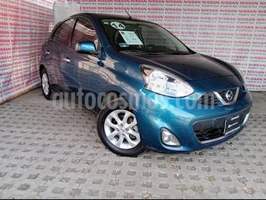 Nissan March Advance usado (2014) color Azul Electrico precio $125,000