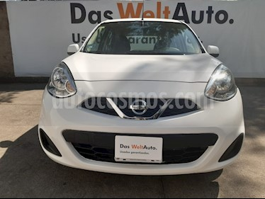 Nissan March Sense usado (2016) color Blanco precio $115,000