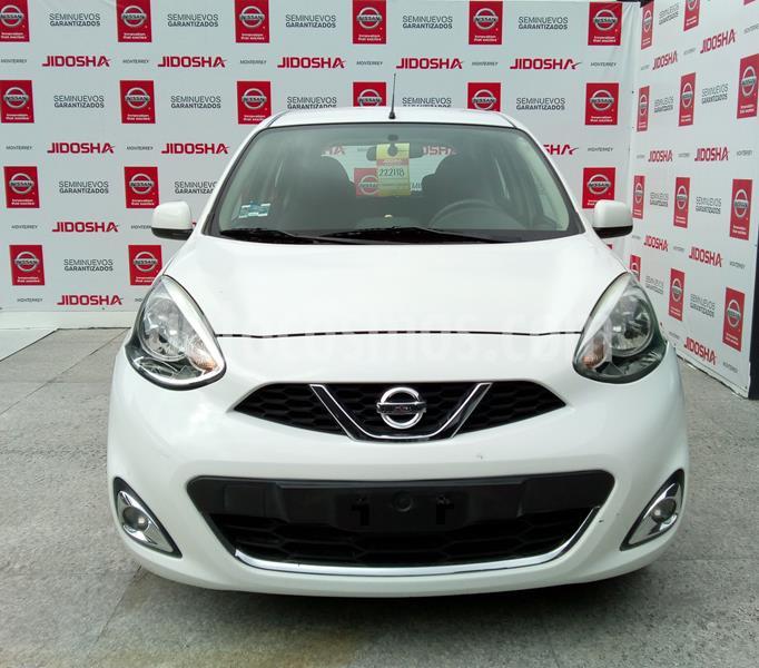 Nissan March Advance usado (2015) color Blanco precio $155,000