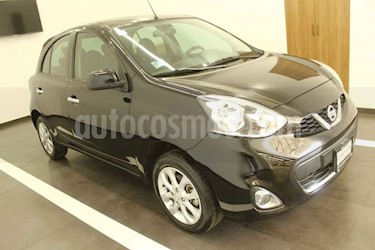 Nissan March 5p Advance L4/1.6 Aut usado (2016) color Negro precio $139,000