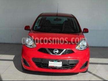 Nissan March 5P SENSE L4/1.6 AUT usado (2015) color Rojo precio $139,000