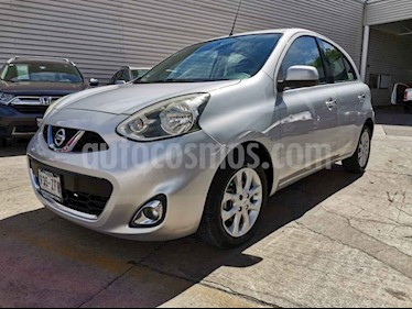 Nissan March 5p Advance L4/1.6 Man usado (2014) color Plata precio $125,000
