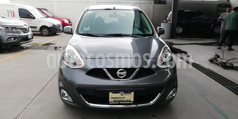 Nissan March Advance Aut usado (2018) color Gris precio $165,000