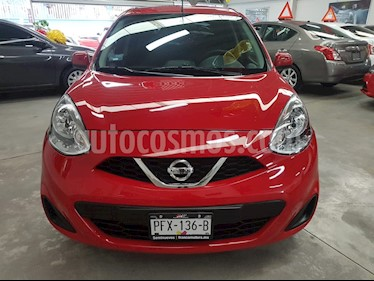 Nissan March Sense  Aut usado (2018) color Rojo precio $169,000