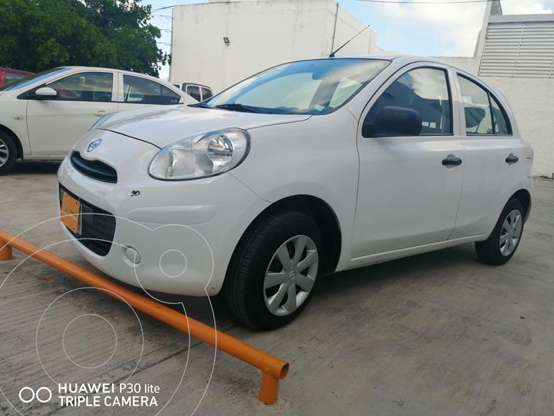 Foto Nissan March Active  usado (2020) color Blanco precio $160,000