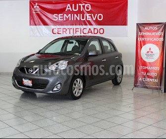 foto Nissan March Advance usado (2018) color Gris Oxford precio $160,000
