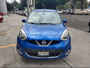 Nissan March Advance usado (2017) color Azul precio $160,000