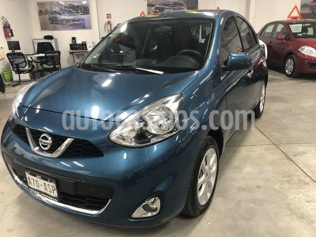 Nissan March Advance usado (2018) color Turquesa precio $169,000