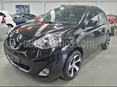 Nissan March Advance Aut usado (2017) color Negro precio $175,000