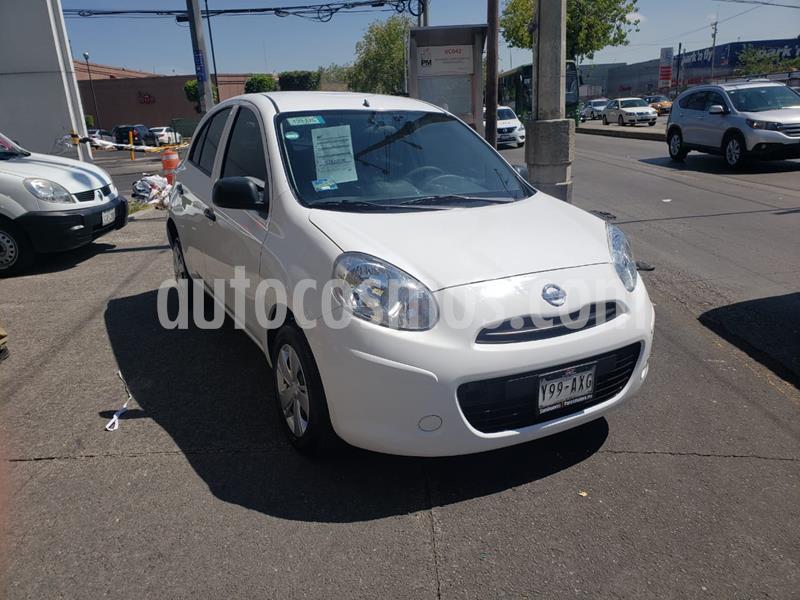 Nissan March Active Aire Ac usado (2018) color Blanco precio $125,000
