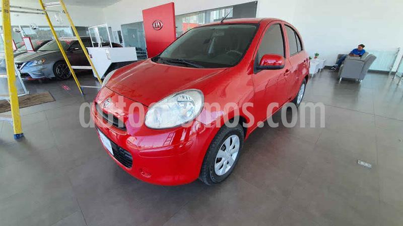 Nissan March Sense  Aut usado (2013) color Rojo precio $95,000