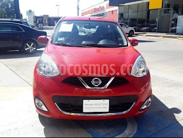 Nissan March 5p Advance L4/1.6 Man usado (2018) color Rojo precio $170,000