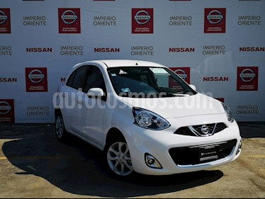 Foto Nissan March Advance Aut usado (2018) color Blanco precio $199,000