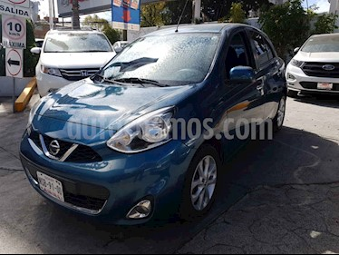 Nissan March 5p Advance L4/1.6 Man usado (2014) color Verde precio $128,000