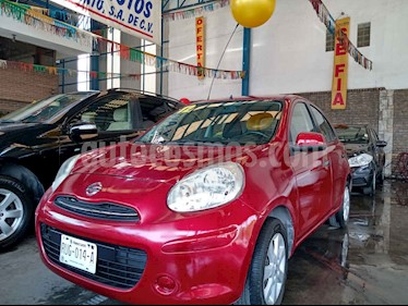 Nissan March Advance Aut usado (2012) color Rojo precio $95,000