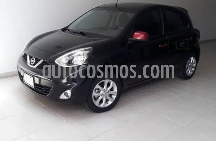 Nissan March 5P HB ADVANCE Y DUO AT A/AC. VE BA ABS CD RA-15 usado (2018) color Negro precio $155,000