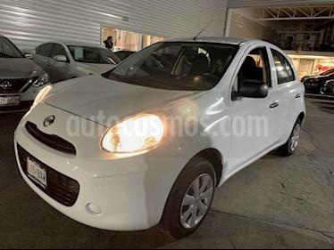 Nissan March Active Aire Ac usado (2018) color Blanco precio $149,000
