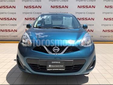 Nissan March Sense usado (2016) color Turquesa precio $135,000