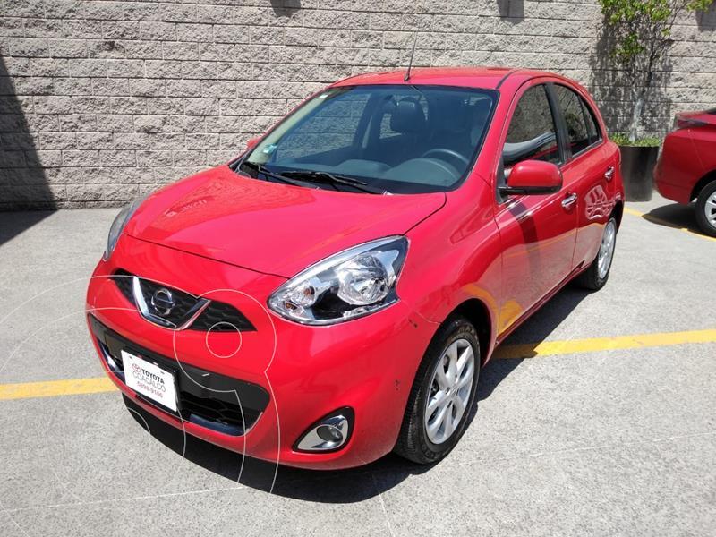 Foto Nissan March Advance usado (2020) color Rojo precio $209,000
