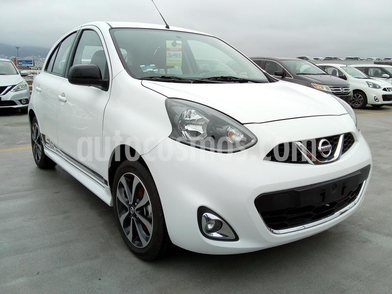 Nissan March SR NAVI usado (2018) color Blanco precio $190,000