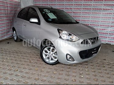 Nissan March Advance Aut usado (2017) color Plata precio $153,000