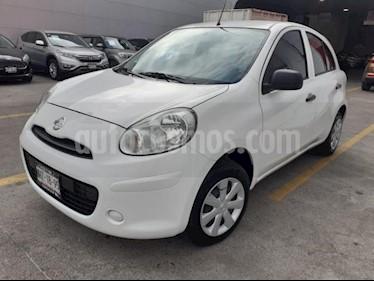 Foto Nissan March 5p Active L4/1.6 Man A/A usado (2018) color Blanco precio $149,000