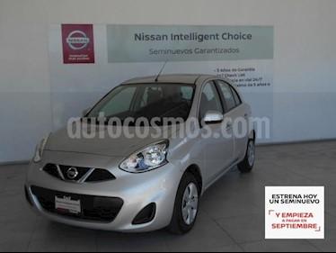 Nissan March 5P SENSE L4/1.6 MAN usado (2019) color Plata precio $159,000