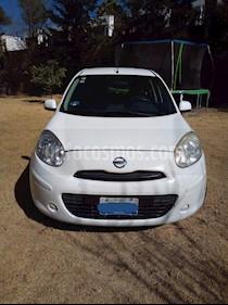 Nissan March Sense usado (2012) color Blanco precio $79,000