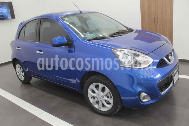 Nissan March Advance Aut usado (2018) color Azul precio $165,000