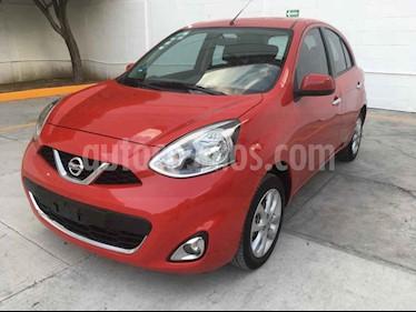 Nissan March 5p Advance L4/1.6 Aut usado (2015) color Rojo precio $128,000