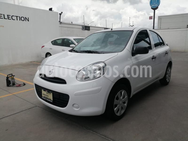 Nissan March Active usado (2018) color Blanco precio $139,000