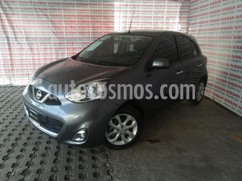 Nissan March Advance usado (2018) color Gris Oxford precio $165,000
