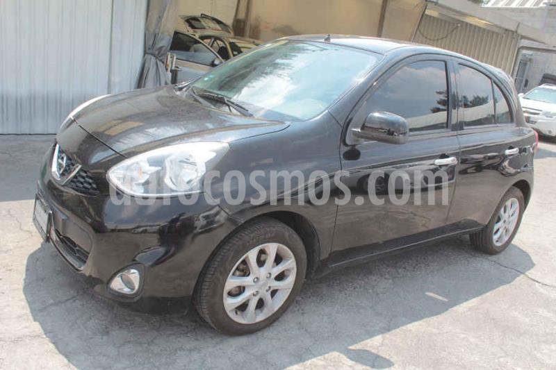 Nissan March Advance Aut usado (2015) color Negro precio $145,000