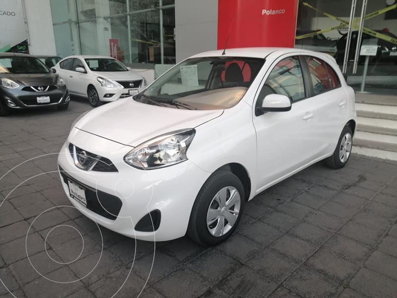Foto Nissan March Sense usado (2019) color Blanco precio $160,000
