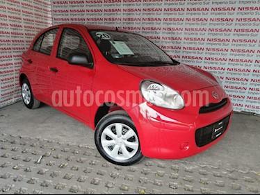 Nissan March Active ABS usado (2020) color Rojo precio $170,000