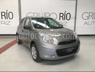 Foto Nissan March Active usado (2015) color Gris precio $119,000
