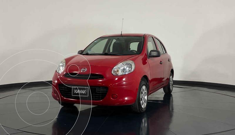 Foto Nissan March Sense usado (2015) color Rojo precio $127,999
