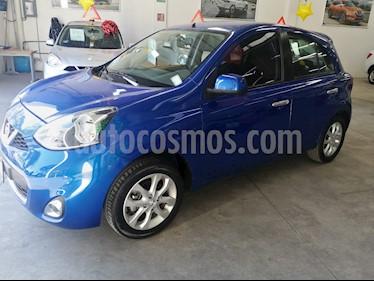 Nissan March Advance Aut usado (2018) color Azul Electrico precio $179,000