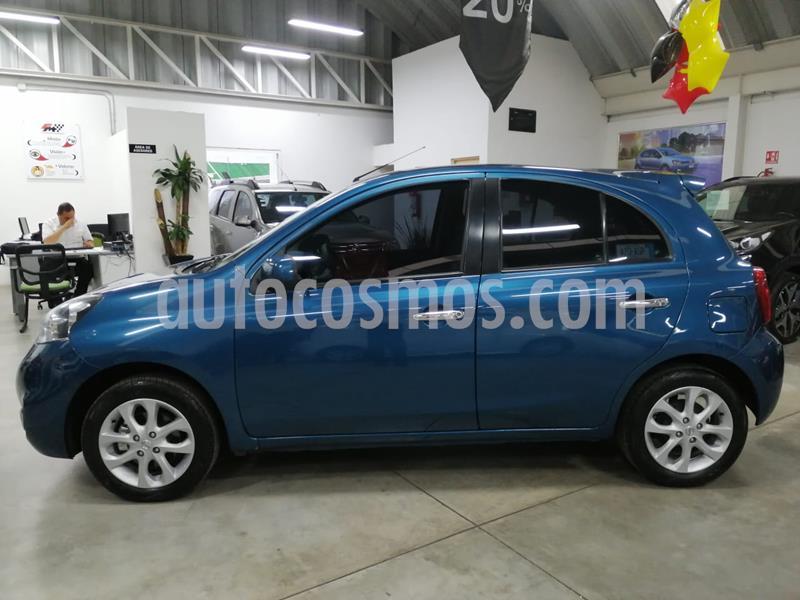 Nissan March Advance usado (2018) color Turquesa precio $169,000