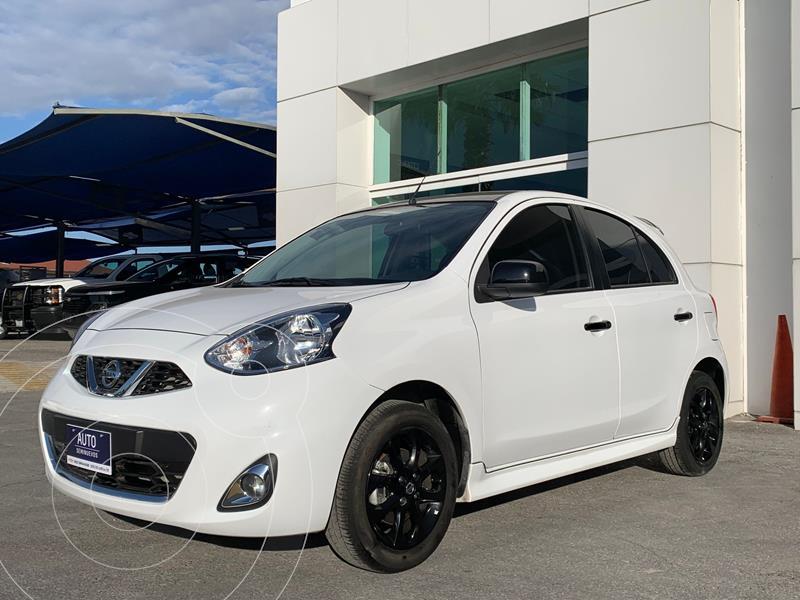 Foto Nissan March Exclusive usado (2020) color Blanco precio $311,600