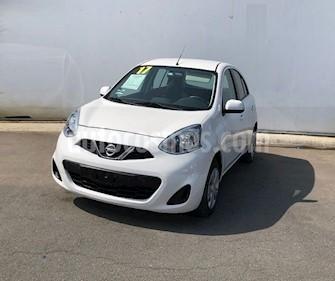 Nissan March Sense  Aut usado (2017) color Blanco precio $139,000